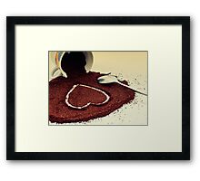 Coffe is Love Framed Print