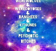 Teen Wolf & Galaxy & by jordams124