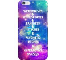 Teen Wolf & Galaxy & iPhone Case/Skin
