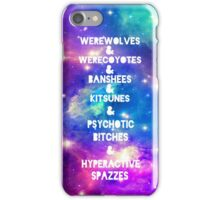 Teen Wolf & Galaxy & iPhone Case/Skin