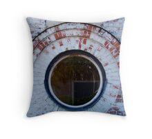 Round Window Throw Pillow