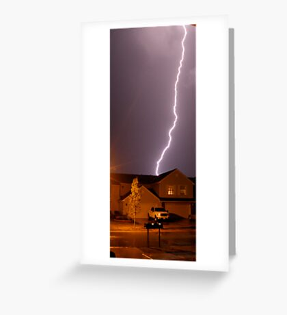 Electrical Energy Greeting Card