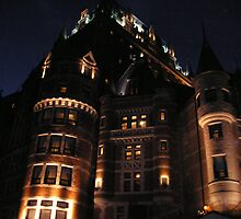 The Château Frontenac Quebec city,  P.Que by italienne