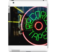 Record Store Sign iPad Case/Skin