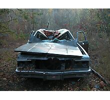 Old Junky Car Photographic Print
