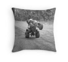 A Day With The Boys Throw Pillow