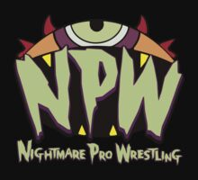 Nightmare Pro Wrestling - 2015 Logo by Jon David Guerra