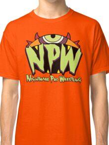 Nightmare Pro Wrestling - 2015 Logo Classic T-Shirt