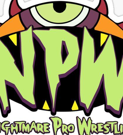Nightmare Pro Wrestling - 2015 Logo Sticker