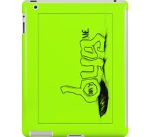 """""""don't BUG me."""" (w/frame) - The """"PLAYFUL TYPE"""" Collection iPad Case/Skin"""