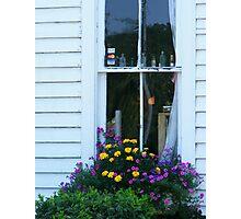Antique Shop Window Photographic Print