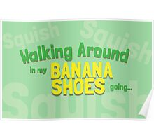 Game Grumps Banana Shoes Poster