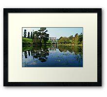 Powerscourt House Framed Print