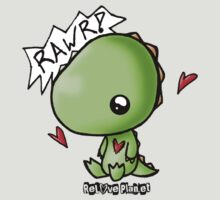 Dino says Rawr by Bianca Loran