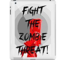 Human VS Zombies - Anti-Zombie Propaganda iPad Case/Skin