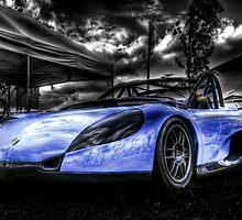 Blue Spider by Roddy Atkinson