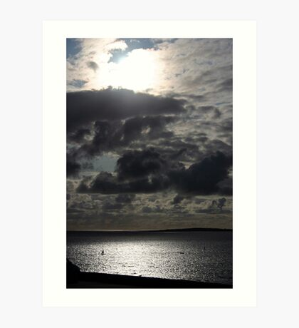 sky. Art Print