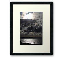 sky. Framed Print