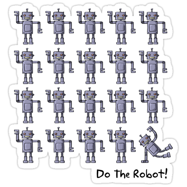 Do The Robot! (light) by Ine Spee