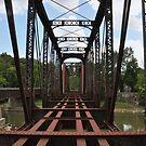 Looking through an old bridge by mltrue