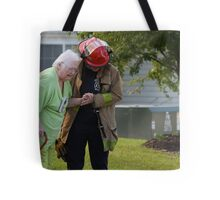 Don't Look Behind You, BBQ Gone Bad Tote Bag