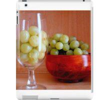 Still Life - grapes II  ^ iPad Case/Skin