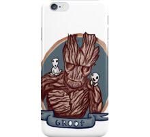 groot + tree spirits iPhone Case/Skin