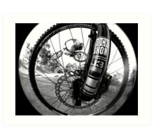 Wheel good time.... Art Print