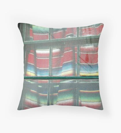 El Serape Throw Pillow