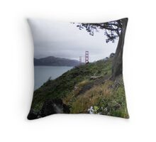 Golden Gate Bridge, San Francisco Calif. Throw Pillow