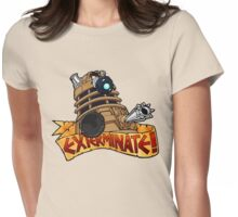 Tattoo Style Dalek Womens Fitted T-Shirt