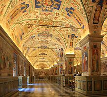 Vatican Library by Christophe Testi