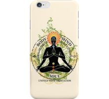 Mind Body and Soul KUNDALINI iPhone Case/Skin