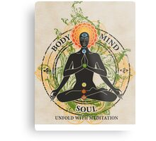 Mind Body and Soul KUNDALINI Metal Print