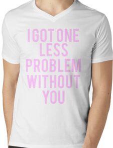 Ariana Grande - I got one less problem without you Mens V-Neck T-Shirt