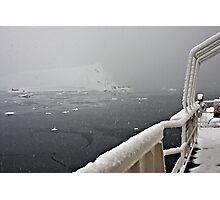 30 Days before the Summer Solstice!!! ~ Antarctica Photographic Print