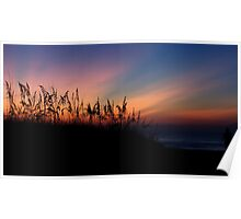 Sand Dune at Sunrise Poster