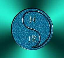 Pisces & Dog Yang Water by astrodesigner75