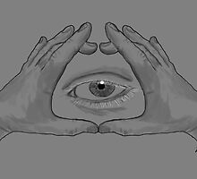 Illuminati Hands by ZeppeArt