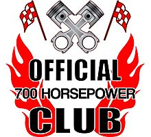 Official 700 HP Club Photographic Print
