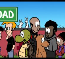 Limbo Road Sticker