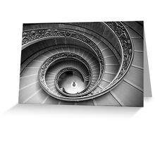 Michelangelo's stairs Greeting Card
