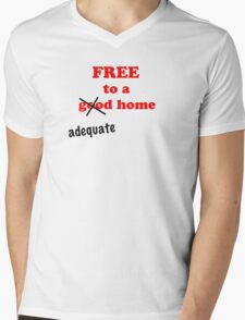 Free... Tee Mens V-Neck T-Shirt