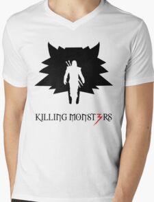 Killing monsters Mens V-Neck T-Shirt