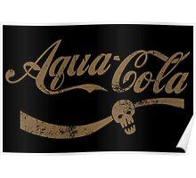 Aqua Cola Poster