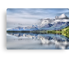 Somewhere near Haines, AK. Canvas Print