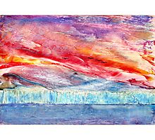 Fire & Ice Photographic Print