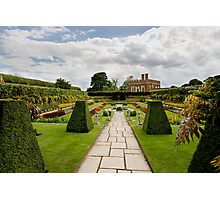Formal gardens at Hampton Court Photographic Print