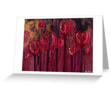 Red Radish Erosion  Greeting Card