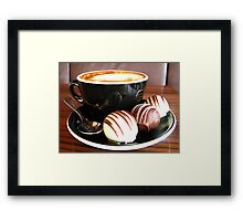Coffee and Truffles Framed Print